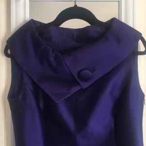 Tahari blue/purple shimmer dress